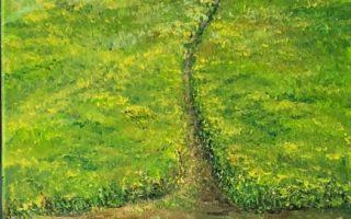 Sanjivo ljeto,  akril na platnu,  50×35,  2019